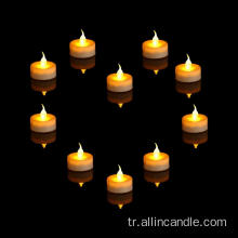 Noel dekoratif mini LED tealight mum